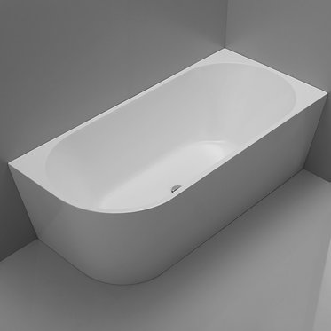 MILAN corner bath 1500/1700mm Left or Right Corner