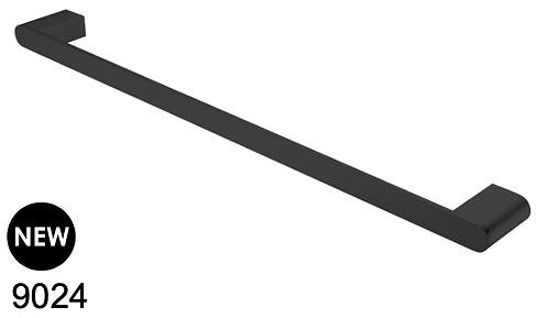 BIANCA 600mm single towel rail - Chrome/BK/Brushed nickel/Gun metal grey