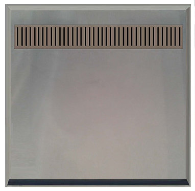 895x895x60mm SMC tile tray with s/s 304 grade channel