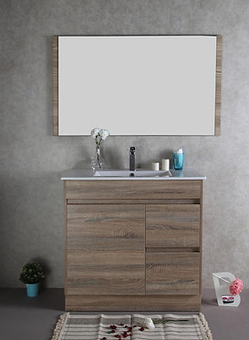 900mm GRACE timber vanity - ceramic/stone with under or above counter basin