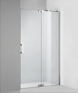 Frameless pivot door (800-2000) (adjustable) - Chrome