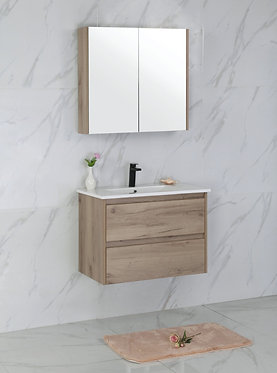750mm MAX timber vanity - ceramic/stone with under or above counter basi
