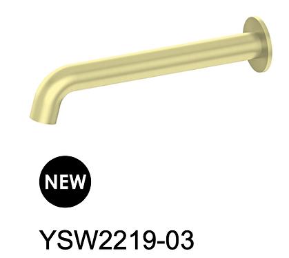 MECCA basin/bath spout-Chrome/BK/Brushed nickel/Gun metal grey/Brushed gold