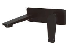 Noir wall basin mixer (matt black)