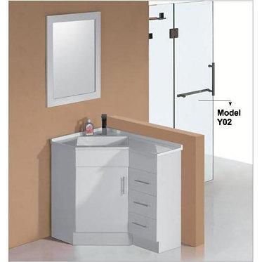 600-900mm Corner vanity