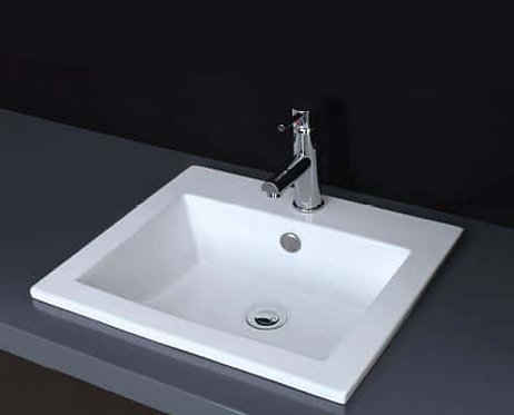 Lois ii rectangle insert basin