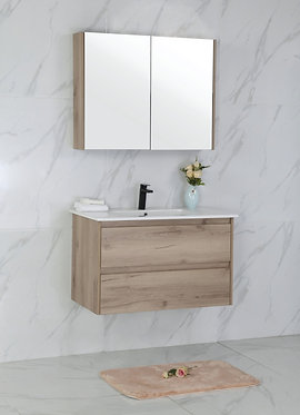 900mm MAX timber vanity - ceramic/stone with under or above counter basi