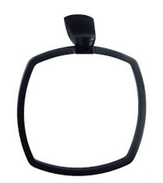 Noir hand towel ring