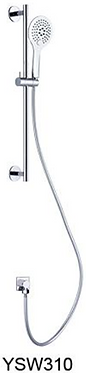 NOVA 3 function shower rail  Chrome / Black