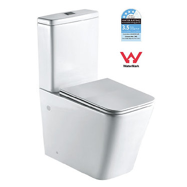 Wall faced boxed rim toilet suite T2093A
