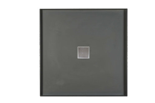 995x995x60mm SMC tile tray with s/s 304 grade grate