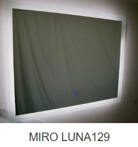 LED LUNA mirror 1200x900mm