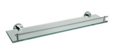 Jess glass shelf 600mm