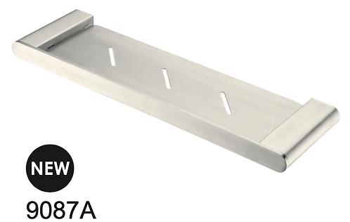 BIANCA 425mm metal shelf - Chrome/BK/Brushed nickel/Gun metal grey