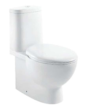 Monarch wall faced boxed rim toilet suite