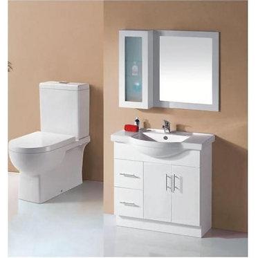 900mm Semi-recess vanity