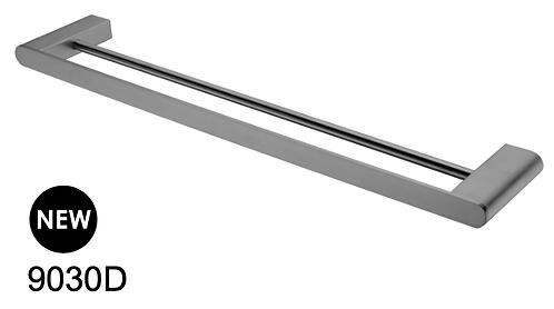 BIANCA double towel rail 800mm- Chrome/BK/Brushed nickel/Gun metal grey/BG
