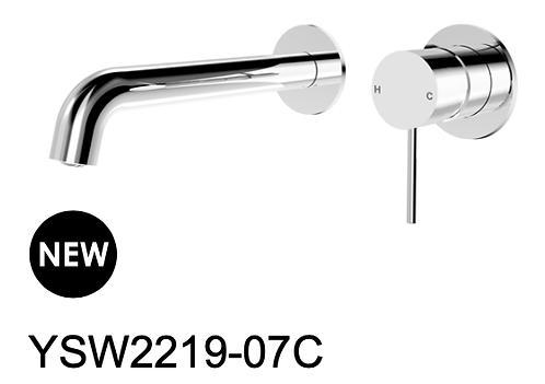 MECCA wall mixer-Chrome/BK/Brushed nickel/Gun metal grey/Brushed gold