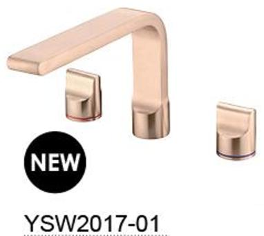 PEARL basin set Chrome / Gun Metal / Rose Gold