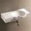 Thumbnail: Chloe wall hung basin without tap hole