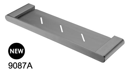 BIANCA metal shelf - Chrome/Black/Brushed nickel/Gun metal grey/Brushed gold
