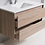 Thumbnail: 1200mm LEO timber vanity - ceramic/stone with under or above counter basin