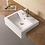 Thumbnail: Fabbris II semi-recess square basin