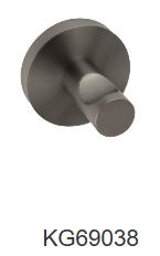 NIXON single robe hook-Chrome/Black/Brushed nickel/Gun metal