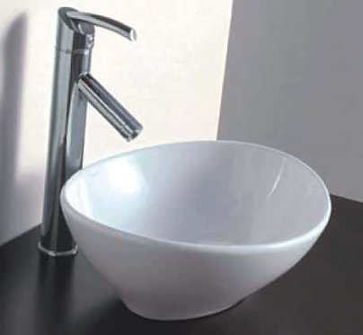Artisic above counter basin