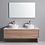 Thumbnail: 1500mm MIA timber vanity - ceramic/stone with under or above counter basin