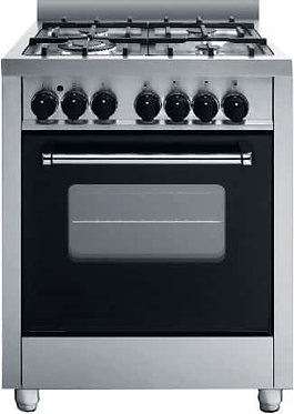 60cm freestanding electric oven, with 60cm gas cook top adaptable for LP