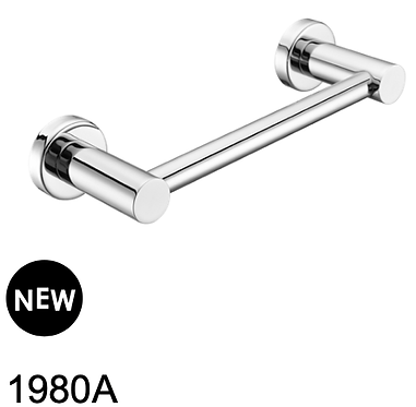 MECCA hand towel rail-Chrome/BK/Brushed nickel/Gun metal grey/Brushed gold