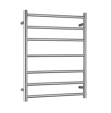 Non heated stainless steel towel ladder round bar