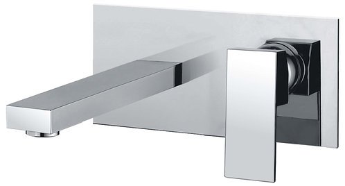 Acqua wall mount bath/basin set