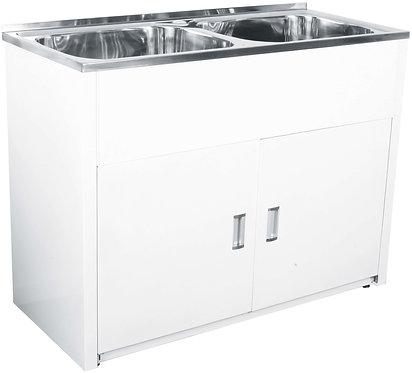Lavassa laundry cabinet 2x45L