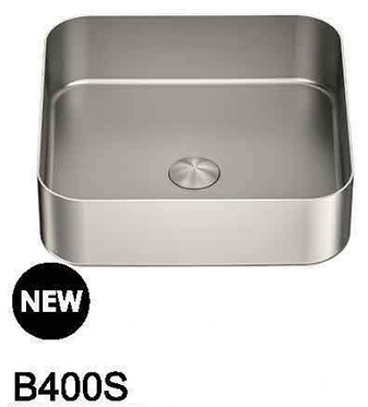 OPAL stainless steel basin