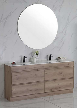 MAX 1800mm vanity with Stone & undermount basin or above counter basin