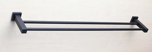 Curo double towel rail (750mm)