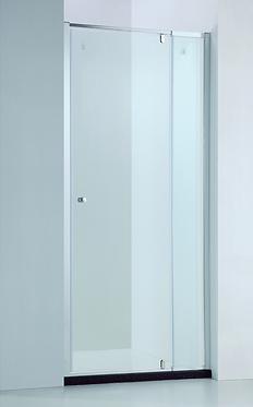 Wall to Wall semi-frame pivot door (adjustable) (740-1540)mm