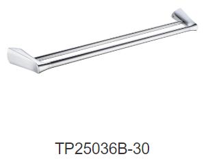 EXON 750mm double towel rail-Chrome/Black/Gun metal