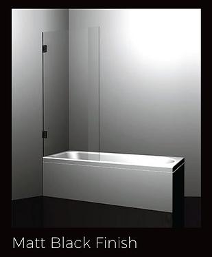 Over bath screen 700/750/800mm - Chrome/Black/Brushed nickel/Brushed gold