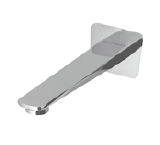 EXON bath spout (fixed)-Chrome/Black/Gun metal finish