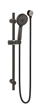 NIXON compact twin shower set-Chrome/Black/Brushed nickel/Gun metal