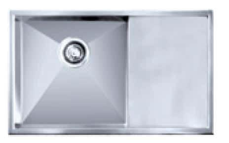 Impact counter top sink c/w basket waste