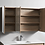 Thumbnail: Timber shaving cabinet 1200x700x150mm
