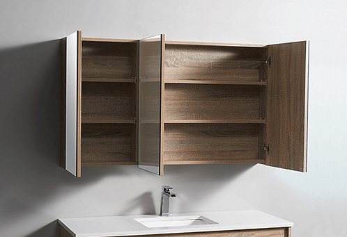 Timber shaving cabinet 1200x700x150mm