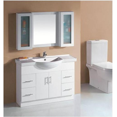 1200mm Semi-recess vanity