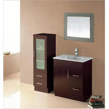 750mm Freestanding vanity, stone top