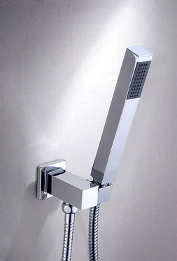 Monterey square single function shower head