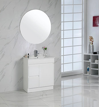 750mm MAYA vanity - ceramic top
